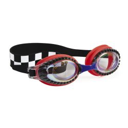 Bling2O Okularki do pływania wyścigi czerwone