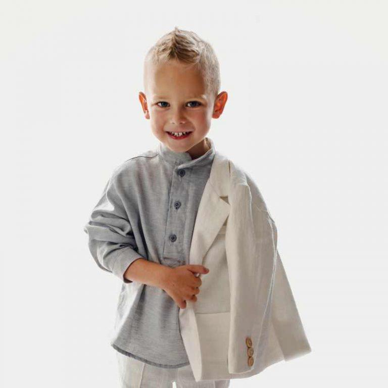 Lniane ubranka dla dzieci – odkryj moc lnu, tkaniny dla najwrażliwszej skóry dziecka